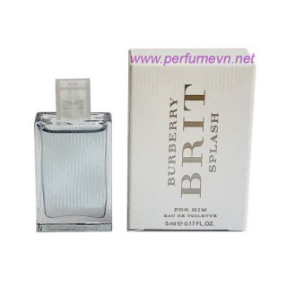 Nước hoa Burberry Brit Splash For Him EDT mini 5ml