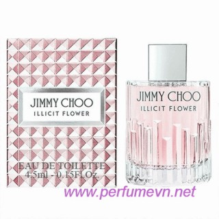 Nước hoa Jimmy Choo Illicit Flower EDT mini 4.5ml