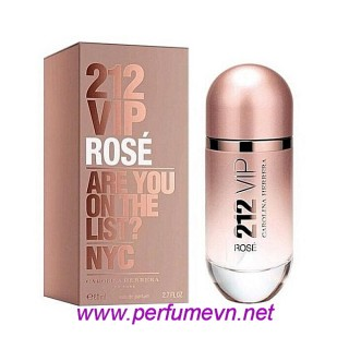 Nước hoa 212 Vip Rose - Carolina Herrera EDP 80ml