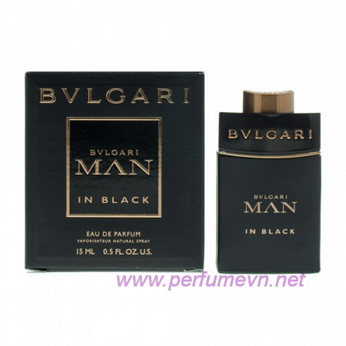 Nước hoa Bvlgari Man In Black mini 15ml