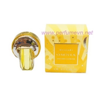 Nước hoa Bvlgari omnia Golden Citrine mini 5ml