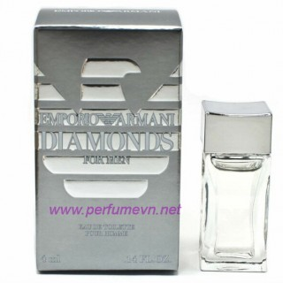 Nước hoa Emporio Armani Diamonds for men mini 4ml