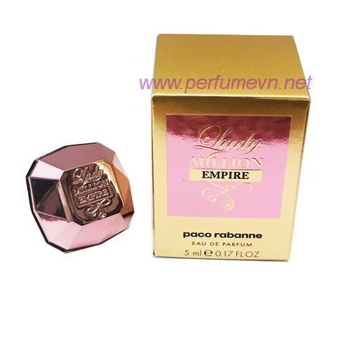Nước hoa Lady Million Empire mini 5ml