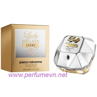 Nước hoa Lady Million Lucky Paco Rabanne 80ml