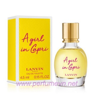 Nước hoa Lanvin A Girl in Capri mini 4.5ml