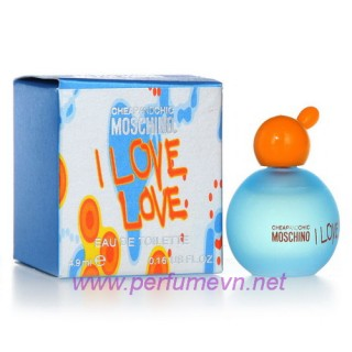 Nước hoa Moschino I Love Love mini 4.9ml