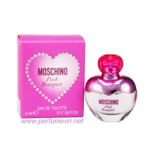 Nước hoa Moschino Pink Bouquet mini 5ml