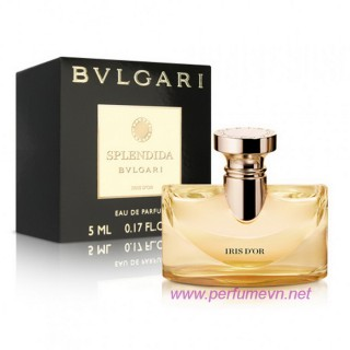 Nước hoa Splendida Bvlgari IRIS D'OR mini 5ml